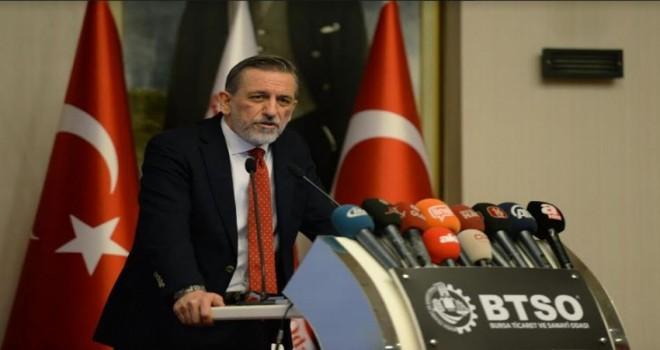 """Burkay, """"Bursa, Türkiye'nin hayallerini gerçeğe dönüştürüyor"""""""