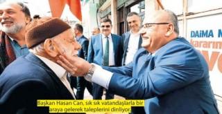 """Ümraniye Belediye Başkanı Hasan Can, """"İstanbul'un yeni cazibe merkezi olduk"""""""